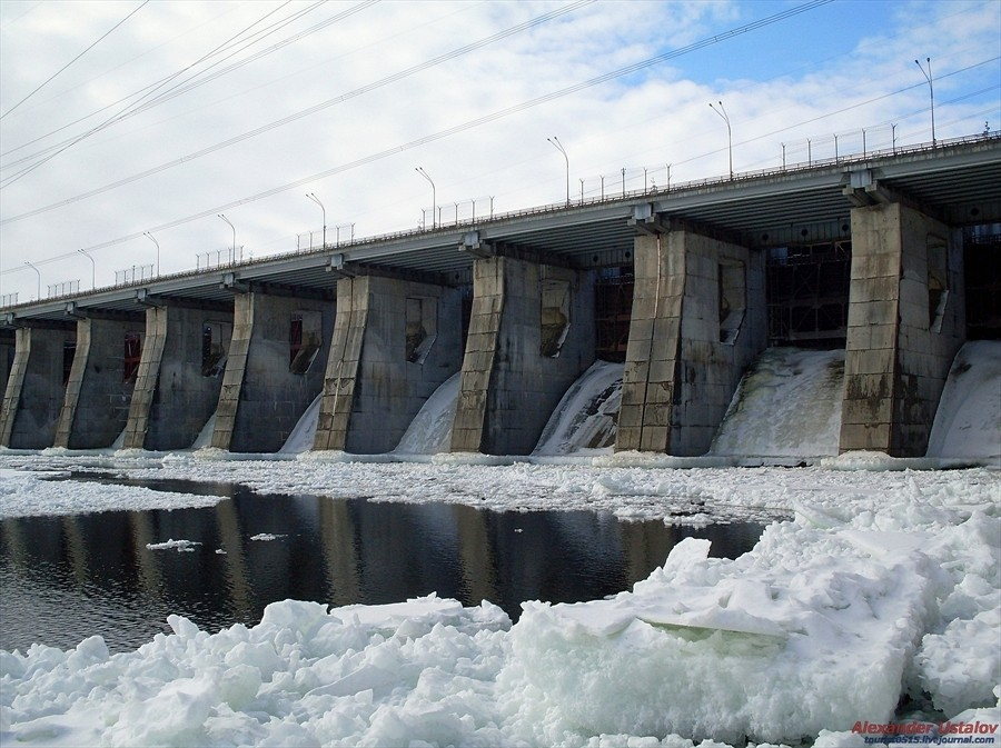 фото плотины в г омутнинск