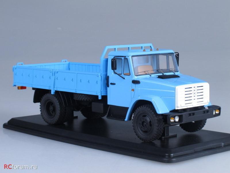 SSM1042 ЗИЛ-4331 бортовой (голубой) (2)