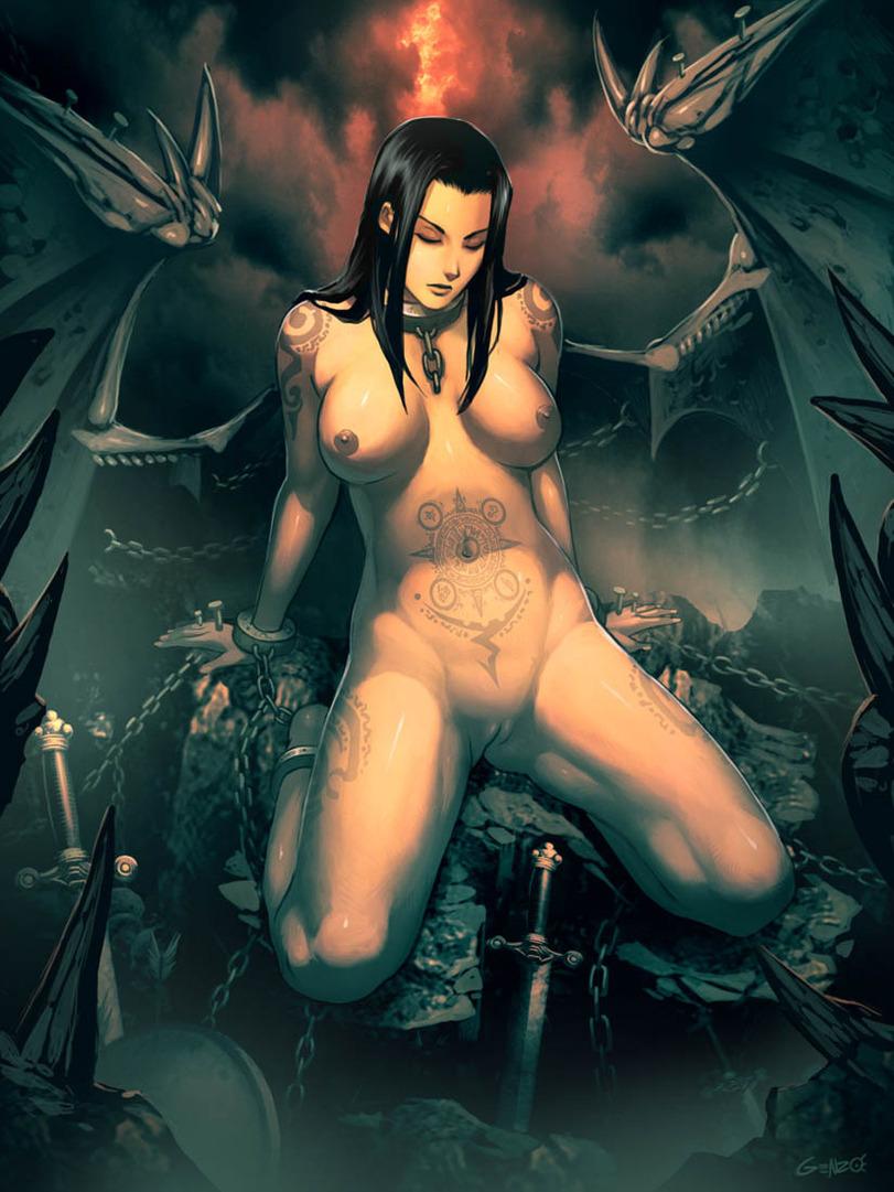 Female Demon Nude 4