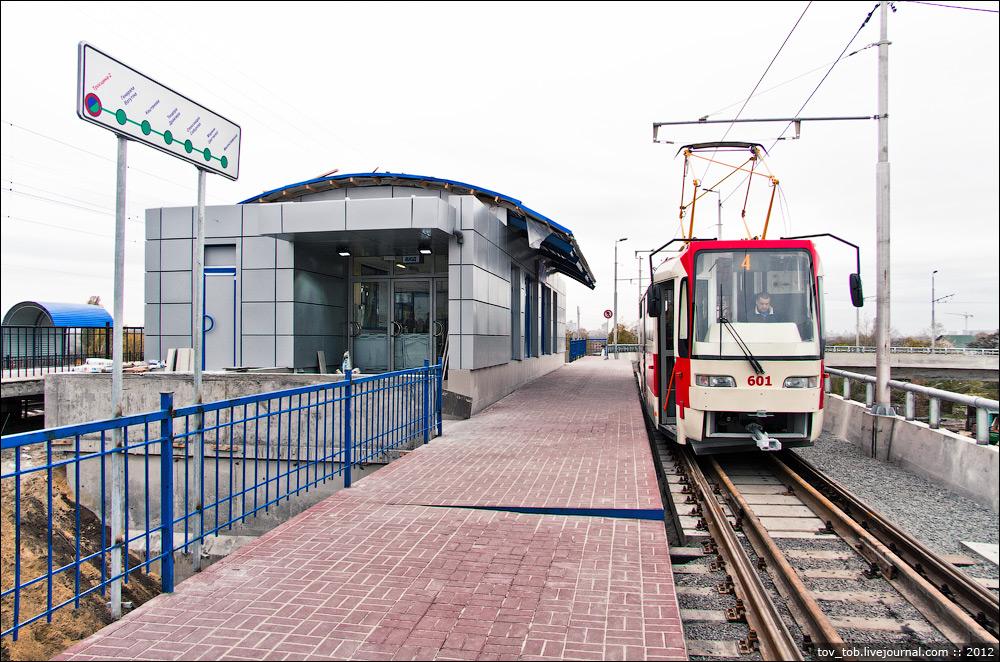 Вторая жизнь скоростного трамвая на Троещине.