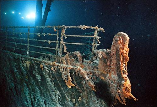 """""""Титаник"""" на дне океана"""