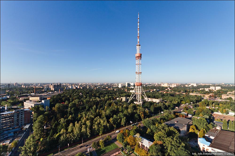 Как устроена киевская телебашня
