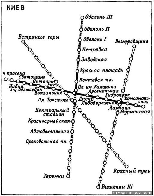 Схема 1977 г.