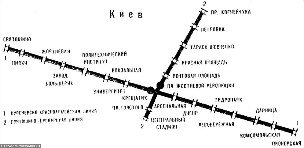 """Станции """"Октябрьская"""" и """""""