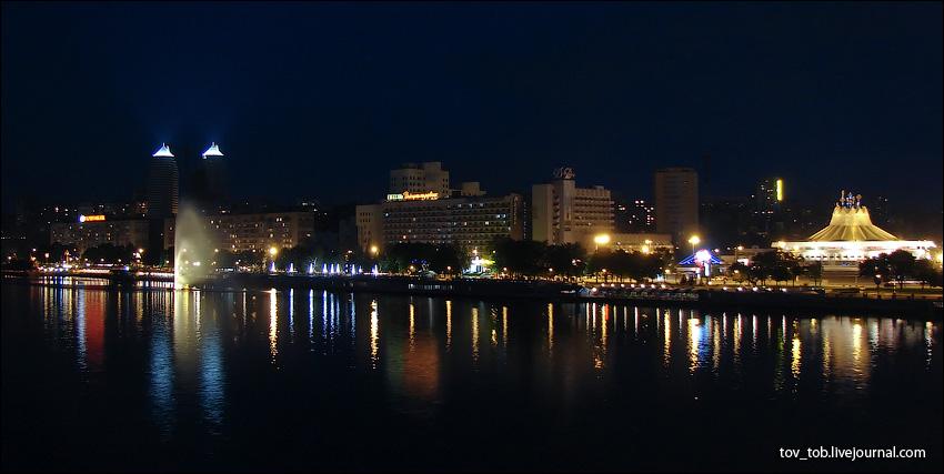 Ночной днепропетровск фото