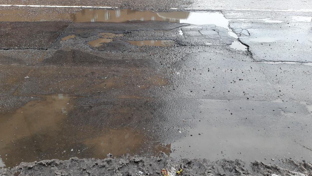 Самая ужасная дорога в Москве