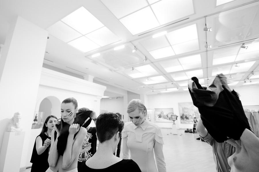 Backstage беларуского дизайнера, давно уехавшего в Польшу - Natasha Pavluchenko