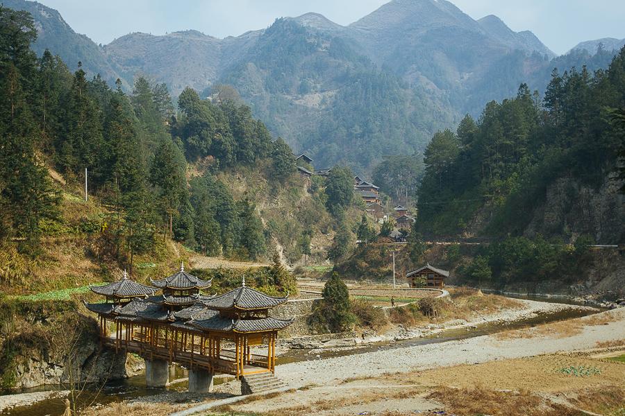 Путешествие в провинцию Guizhou Китай