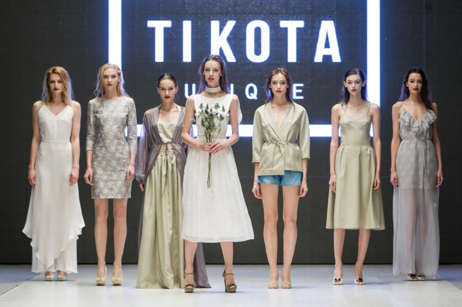 Показ молодого дизайнера Tikota Unique в рамках Belarus Fashion Week  http://q99.it/L8w4SVo