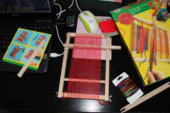 Набор для плетения коврика