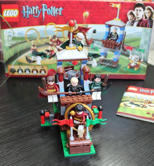 Лего Гарри Поттер матч по квиддичу