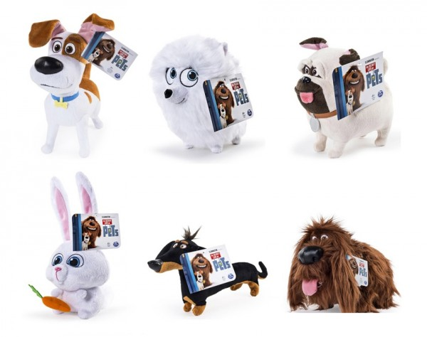 Тайная жизнь домашних животных мягкие игрушки купить