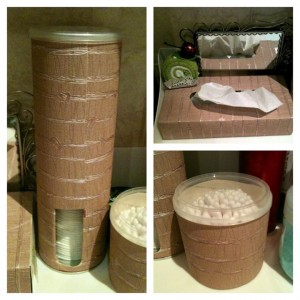 Как сделать органайзер для ватных дисков