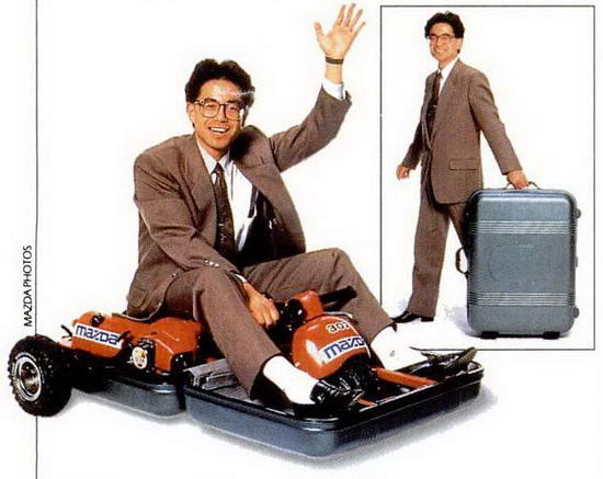 Commute case the 6000 transformer you can ride to work for Motorized ride on suitcase