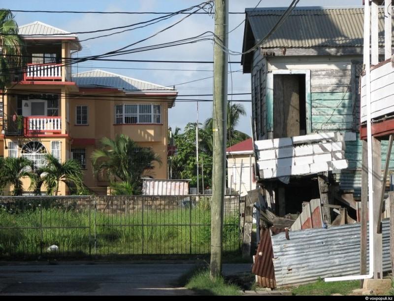 Эмигранты Карибского моря. На краю Белиза