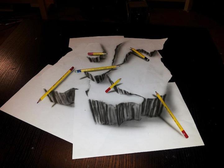 3D-иллюзии от художника JJK Airbrush. Обсуждение на LiveInternet ...
