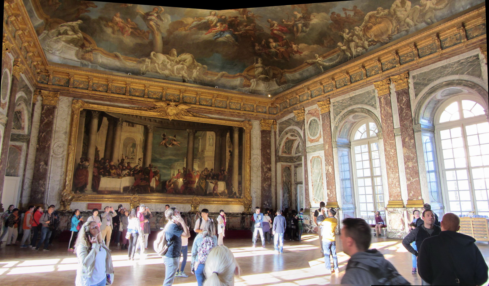 paris 2015 day 2 palace of versailles trailer spotting. Black Bedroom Furniture Sets. Home Design Ideas