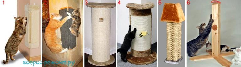 Как сделать когтеточку для кота своими руками пошагово