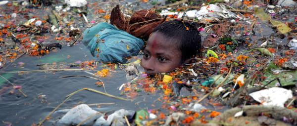 the purifying Ganga