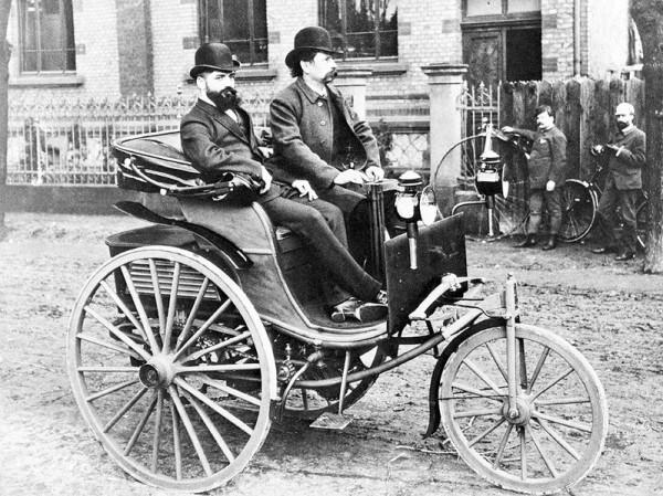 Первые автомобили были доступны очень немногим