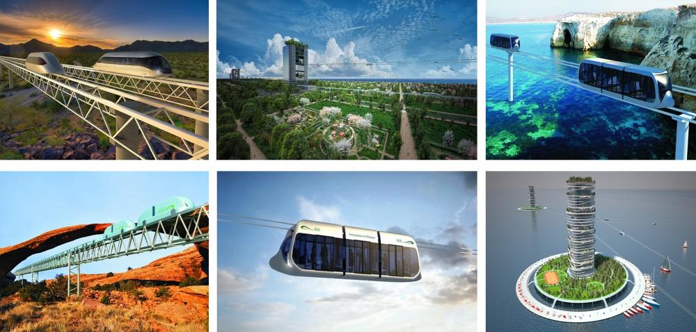 Rail Skyway Systems - транспортная система XXI века
