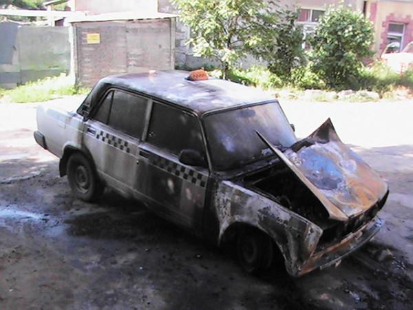 Кимры, поджоги такси