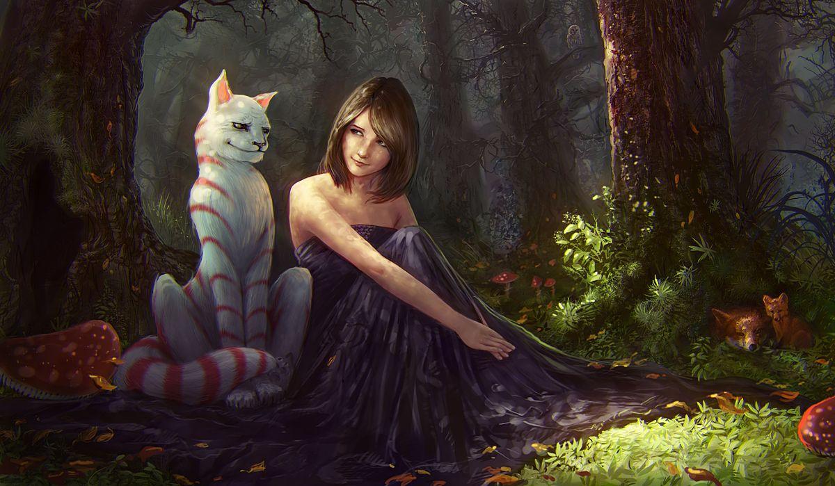 Знакомство Алисы И Чеширского Кота