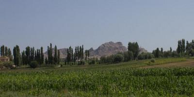 Вид на Сулейман-Тоо с окраины Оша