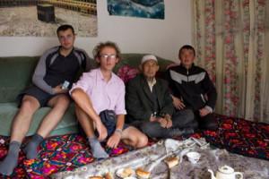 В доме у кыргызов