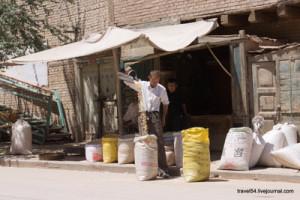 Продавец зерна