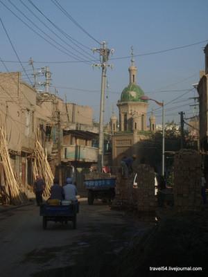 Утро на улицах древнего Кашгара