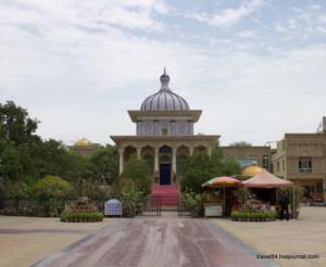 Мечеть в центре Яркенда