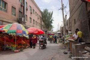 В торговом переулке