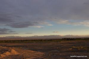 Восход. Хребет Халыктау