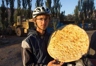 Потрясающая уйгурская лепешка