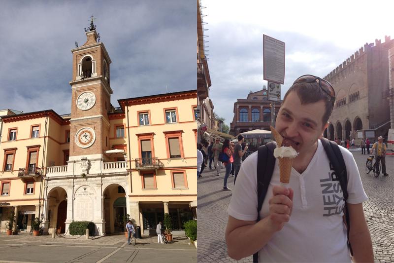 Италия, Римини в мае