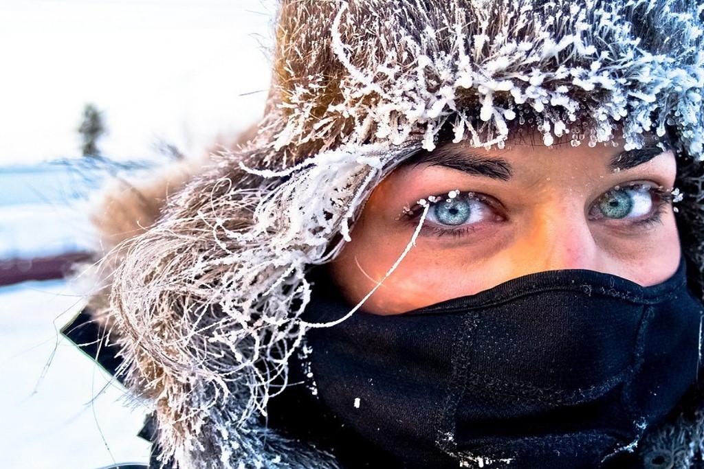 картинка про холод зима селфи пугачева стала