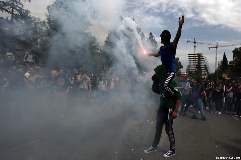 Cyprus-riots