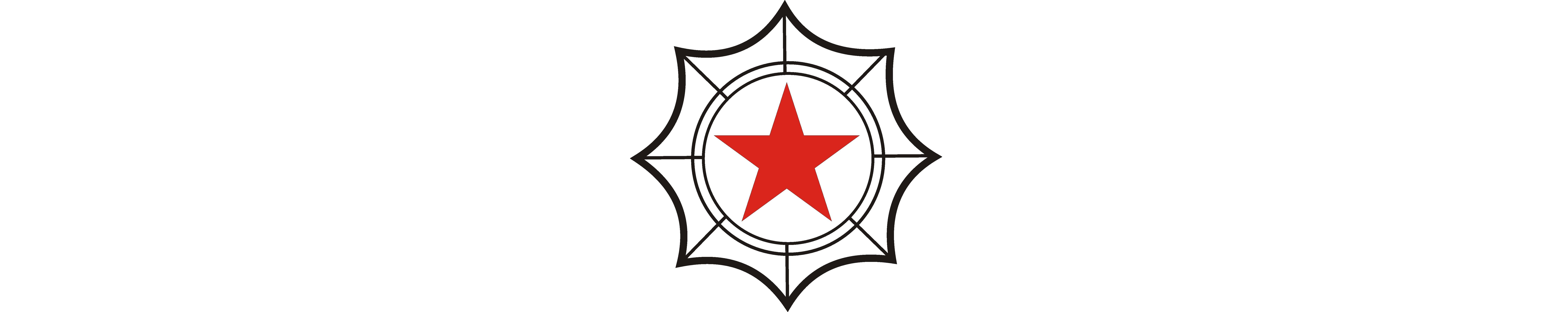Эмблема АОКРЮ белая