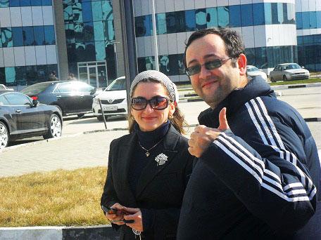Замина и Алим. #GroznyTour.
