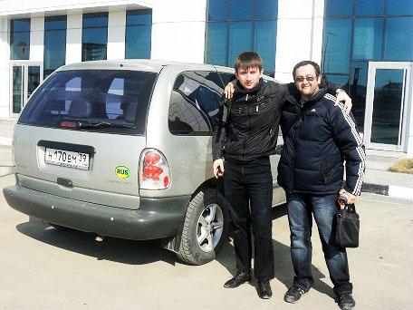 С Алимом. #GroznyTour