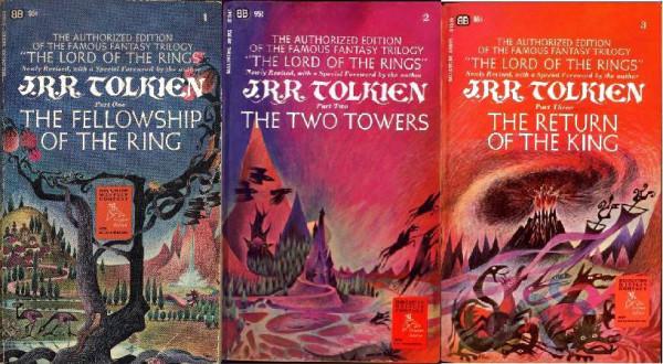 Ballantine Lord of the Rings trilogy MINI