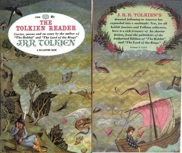 Tolkien Reader covers combined
