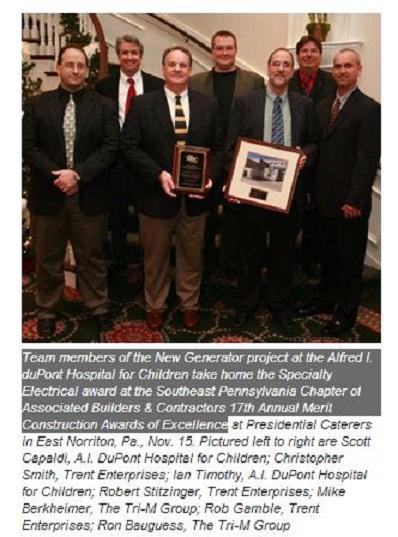 Mike Berkheimer shares award