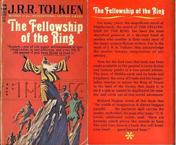 ACE Fellowship of the Ring covers MINI
