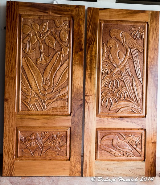 Hand Made Doors Arrive Bananas Building Our Home And