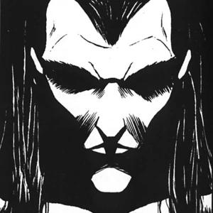 """Portrait of the Methuselah vampire Menele as seen in the sourcebook """"Chicago by Night"""""""
