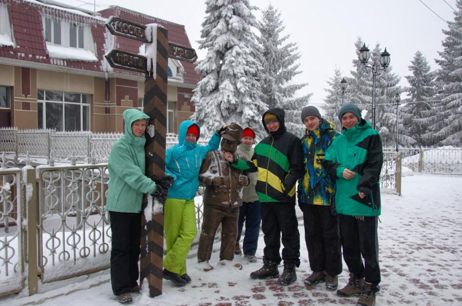 фото нашей группы на станции Бугульма