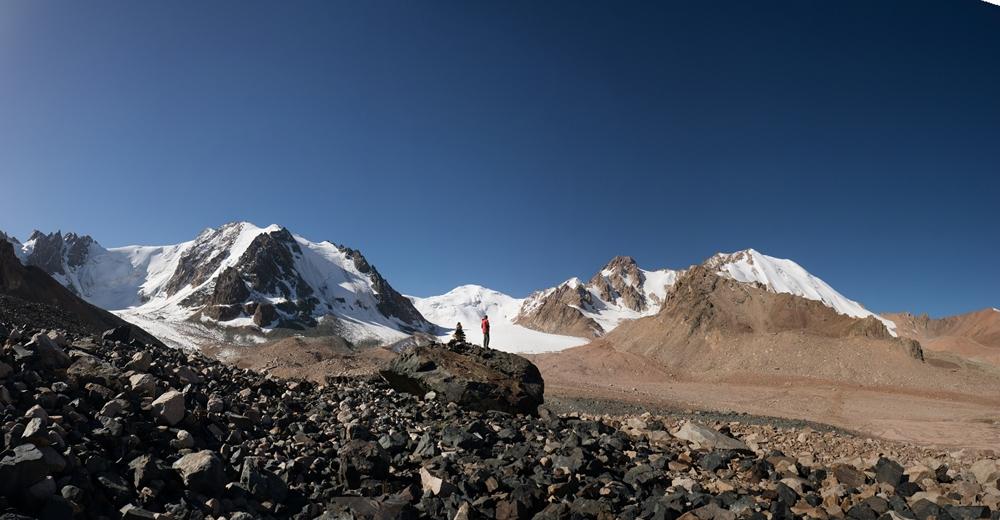 дорога к леднику Туюксу