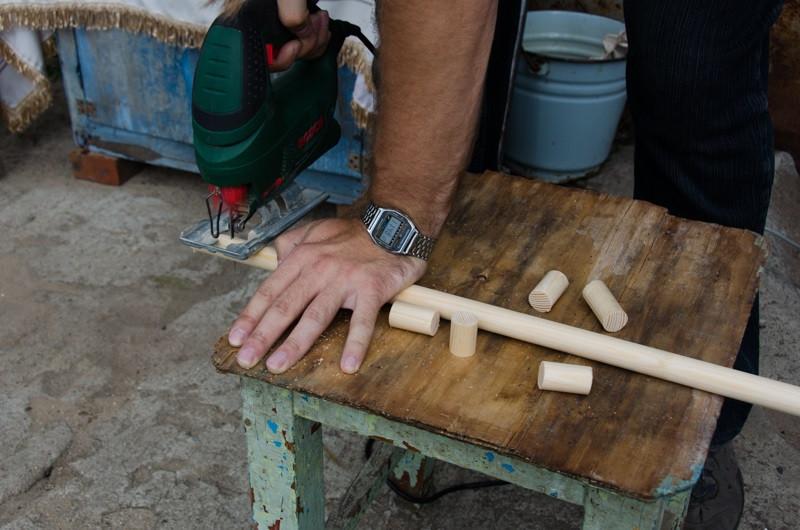 нарезание втулки для альпенштока